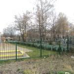 Plac zabaw przy cmentarzu