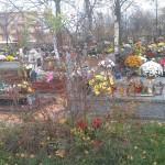 Nowa część cmentarza