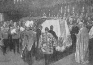 pogrzeb królowej w St George's Chapel, Windsor