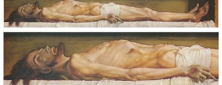 Ciało martwego Chrystusa w grobie