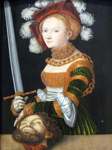 Judyta z głową Holofernesa