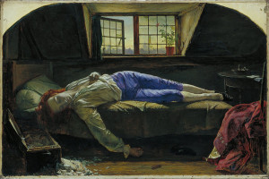 Henry Wallis - Śmierć Chattertona