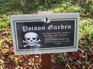 Ogród Trucizn, wchodzisz na własne ryzyko