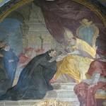 Regimini militantis Ecclesiae - XVII-wieczny fresk autorstwa Johanna Christopha Handke przedstawiający Ignacego Loyolę odbierający z rąk papieża bullę ustanawiającą zakon jezuitów