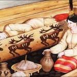 Rekonstrukcja pogrzebu księżniczki Ukok. Kosmetyczka w zaświaty - must-have.