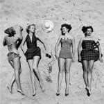 A tak wyglądała moda z lat 40-tych. Przynajmniej na zgniłym Zachodzie!